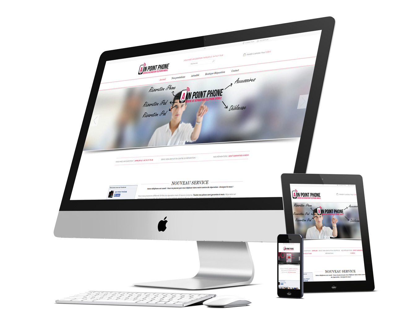 Site Professionnel-Lyman Agency Agence web Paris